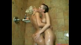 Sexy Girls Playful Shower Cam Show secre camscom