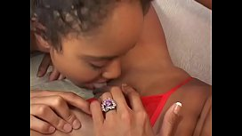 Pierced pussy black teen Max gets eaten out and played with experienced dyke with slant eyes Monica Morales