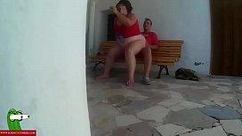 Punishing the fat woman stuffing her ass CRI