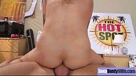Cute Milf Housewife (nadia styles) With Big Round Boobs Enjoy Hard Sex clip-24