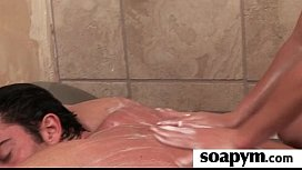 Soapy Massage End With a Big Cumshot 22