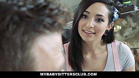 MyBabySittersClub - Teen BabySitter Fucked By Colossal Cock