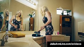 Dick Pleasing Cougar Julia Ann Fucked By Horny Hard Admirer!