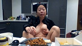 #JulietUncensoredRealityTV Season 1A Episode 35: Real Asian Amateur Reality Porn Star Piss Compilation &amp_ Vlogging Mukbang Behind The Scenes