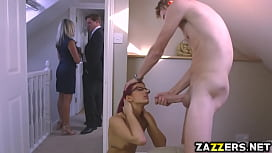 Aylin Diamond rides on top of Danny Ds big thick cock