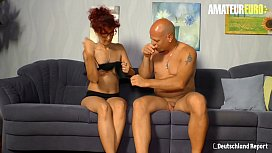AMATEUR EURO - Hot Mature Wife Evelyn S. Gets Picked Up &amp_ Hard Pounded On Cam