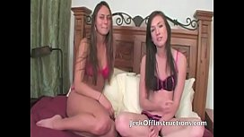 Step Sister And Friend Make You Jerk Off