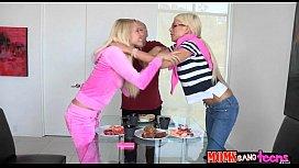 Divine some with a hot older Moms Bang Teens scene