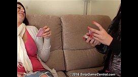 Demi Michelle play Strip High Card
