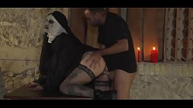 The Nun Creepy Horror Porn Video For Halloween