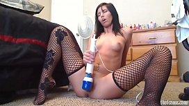 Sexy hot girl play hitachi on cam - 1to1cams.com