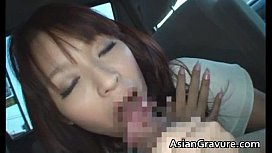 Nasty red head real real asian hot babe