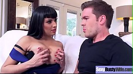 (Mercedes Carrera) Superb Busty Housewife Get Hard Bang On Cam movie-14