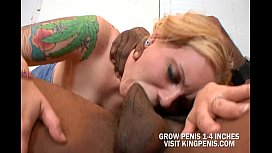 Savannah Heat Nailed By A Huge Black Cock