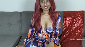 Indian Mom Shamelessly Strips and Encourages Step-Son Joi
