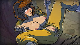 Akabur's TMNT Mating Season - Game Walkthrough - Chapters 1-6