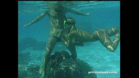 Katja Takes it Deep in the Blue Sea