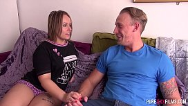 Chubby wife adores her hubby'_s brother his cock
