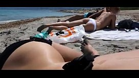 Blowjob at the public beach on www.hookup365.click