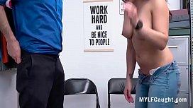 Latina MILF Got Caught Stealing- Sheena Ryder