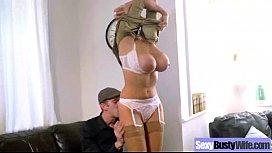 (sensual jane) Naughty Bigtits Housewife Bang Hardcore On Tape video-27
