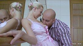 Sweet and Slim Ballerina Enujoys her Teacher'_s Cock in her Cunt