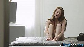 Kinky foot slut rides rod