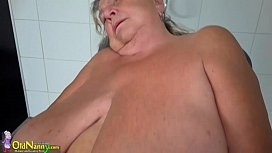 OldNanny Two hot lesbian licking and masturbating
