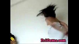 Desi girl dance in towl