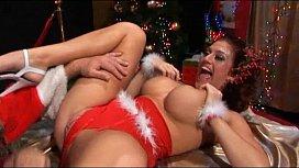 Santa Fucks A Naughty Bitch