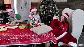 Family Christmas Orgy- Charlotte Sins &amp_ Summer Hart