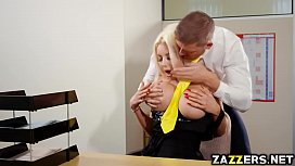 Nicolette Sheas pussy screwed by Marc Rose