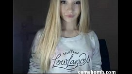 Shy teen super cute camgirl tease