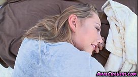 Sweet Carter Cruise gets banged in her ass