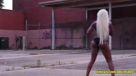 Ebony Big ass Shaking