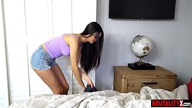 Future stepdaughter slammed in her holes by new stepdad