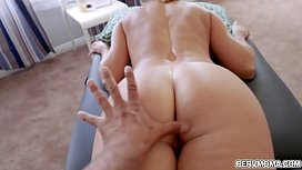 Seductive stepmom India Summer wants to relax and gets a special fuck massage with her horny stepson.