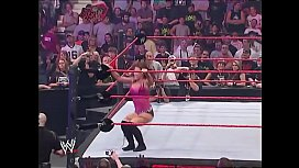 Victoria vs Mickie James lingerie match.