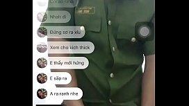 Công an Việt Nam đi nghĩa vụ chat sex bị quay lén - Twitter: tatakaa92