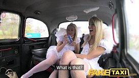 Fake Taxi Angels fuck santas little helper