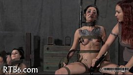 Painful clamping for beauty'_s zeppelins
