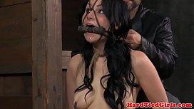 Nipple tortured Veruca James in pain