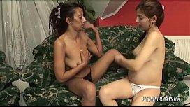 Pregnant Babe Turns A Lesbian