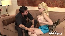 Kagney Linn Karter Spreads Her Legs Wide For Some Hard Dick