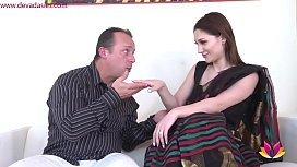 Husband anal fucks Indian maid in wife'_s absence