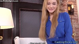 Casting babe banged at sexaudition