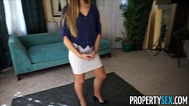 Property Sex Desperate real estate agents fucks on camera to sell house