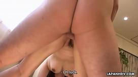 Japanese farmer girl, Maki Hojo had group sex outdoors, uncensored