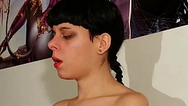 Teen d. sneezing snot by Dad'_s pepper punisment pt2 HD