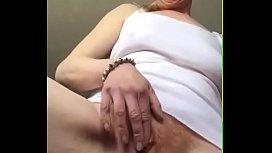 standing up masturbating